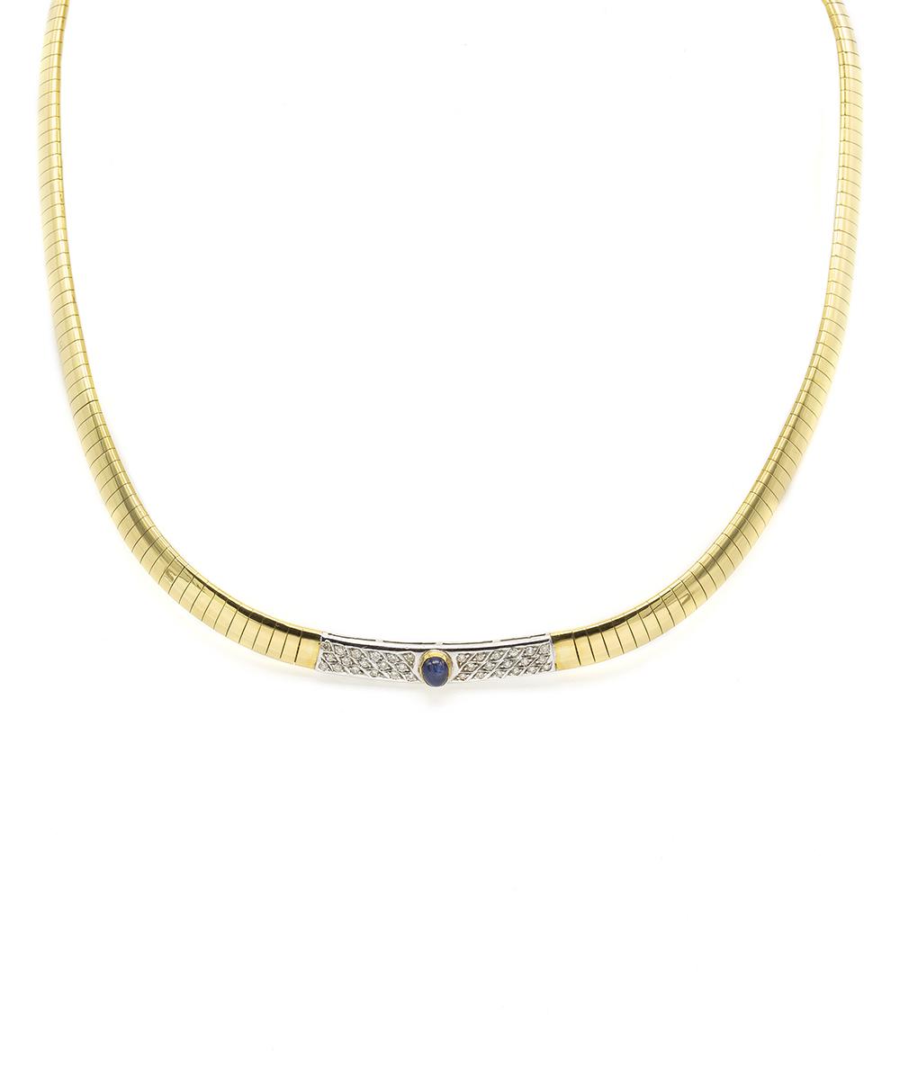 750er Bicolor Halskette